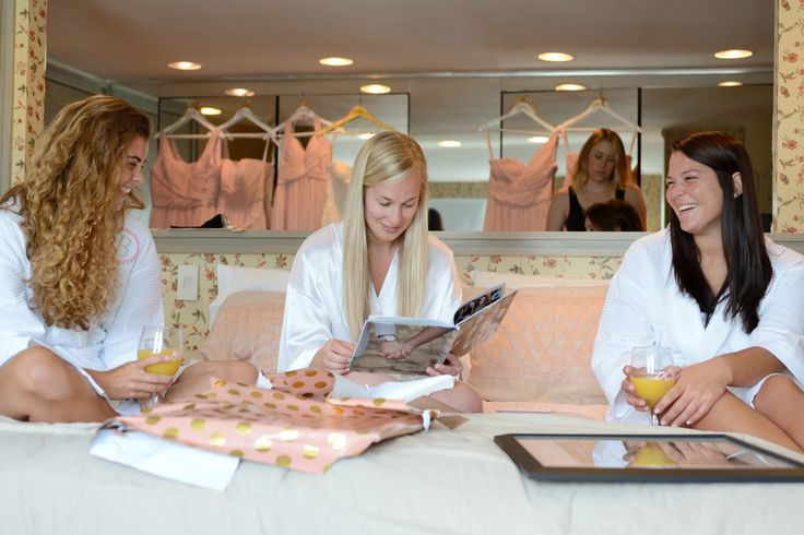 Rest and Relax with the Bridesmaids!   What To Do the Night Before Your Wedding