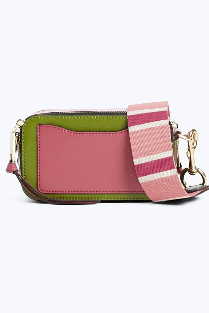 a6febc5ca Snapshot Small Camera Bag | Marc Jacobs | Shady Green Multi | MARC ...