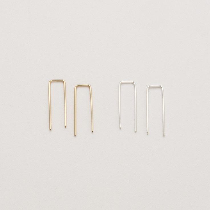 Squared Loop Earrings | Jewelry