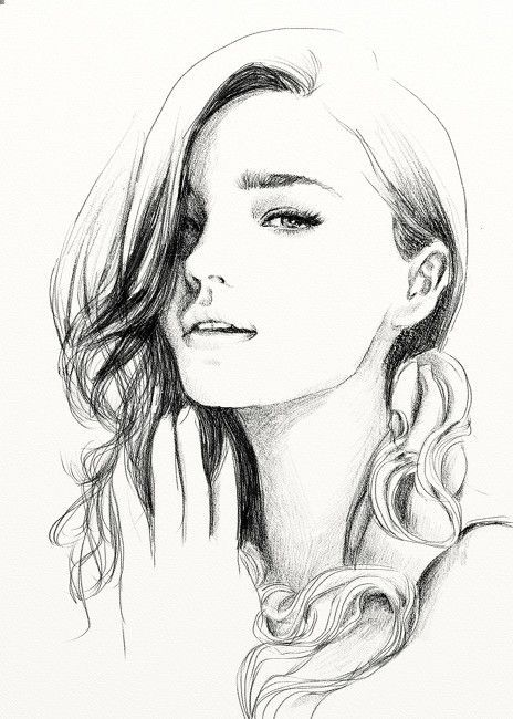 Https Www Pinterest Com Explore Girl Sketch