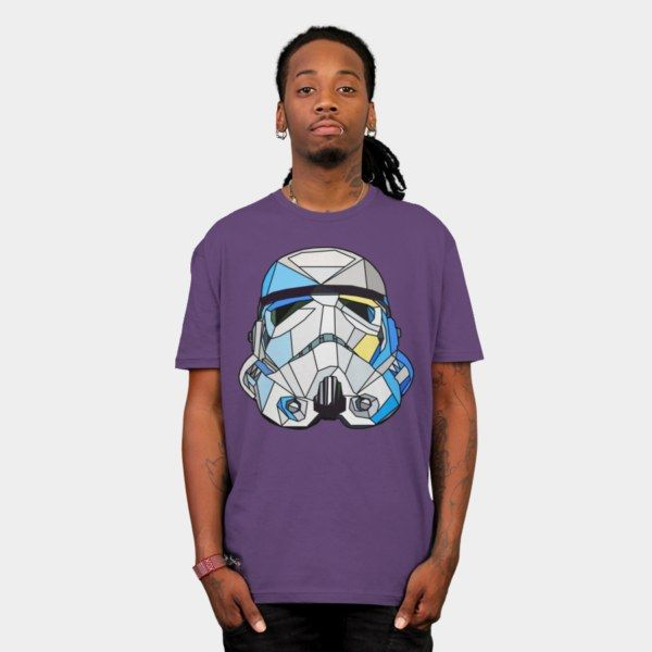 Stained Glass Stormtrooper T-Shirt - Star Wars T-Shirt