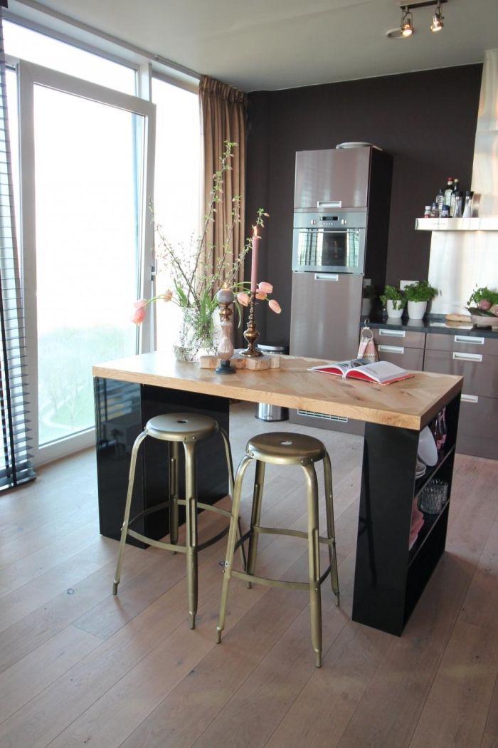 Fabriquer Une Table De Cuisine Avec Un Plan De Travail.Epingle Sur Dining Room