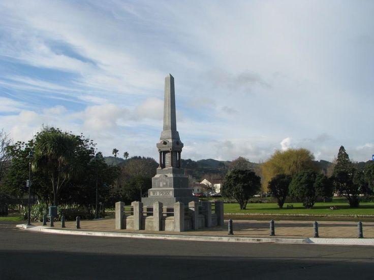 Beattie's Book Blog - : Wiremu Pere Memorial in Gisborne