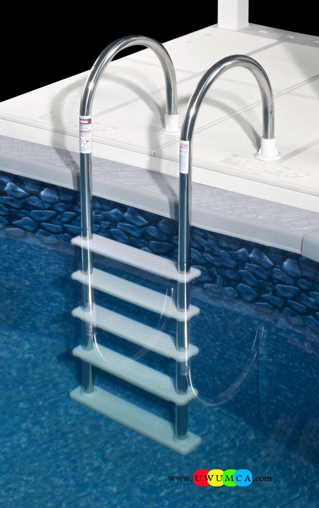 Swimming Pool:Swimming Pool Ladder Pads Above Ground Swimming Pool Ladder Pad Ladder For 30 Inch Pool 60 Inch Pool Ladders Parts Easy Incline Pool Ladders For Heavy People (11) Cozy and Smart Swimming Pool Ladder Pads Design Ideas