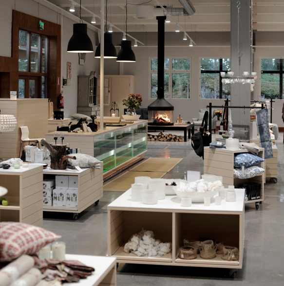 Our design shop. A treasure chest for the everyday aesthetics.