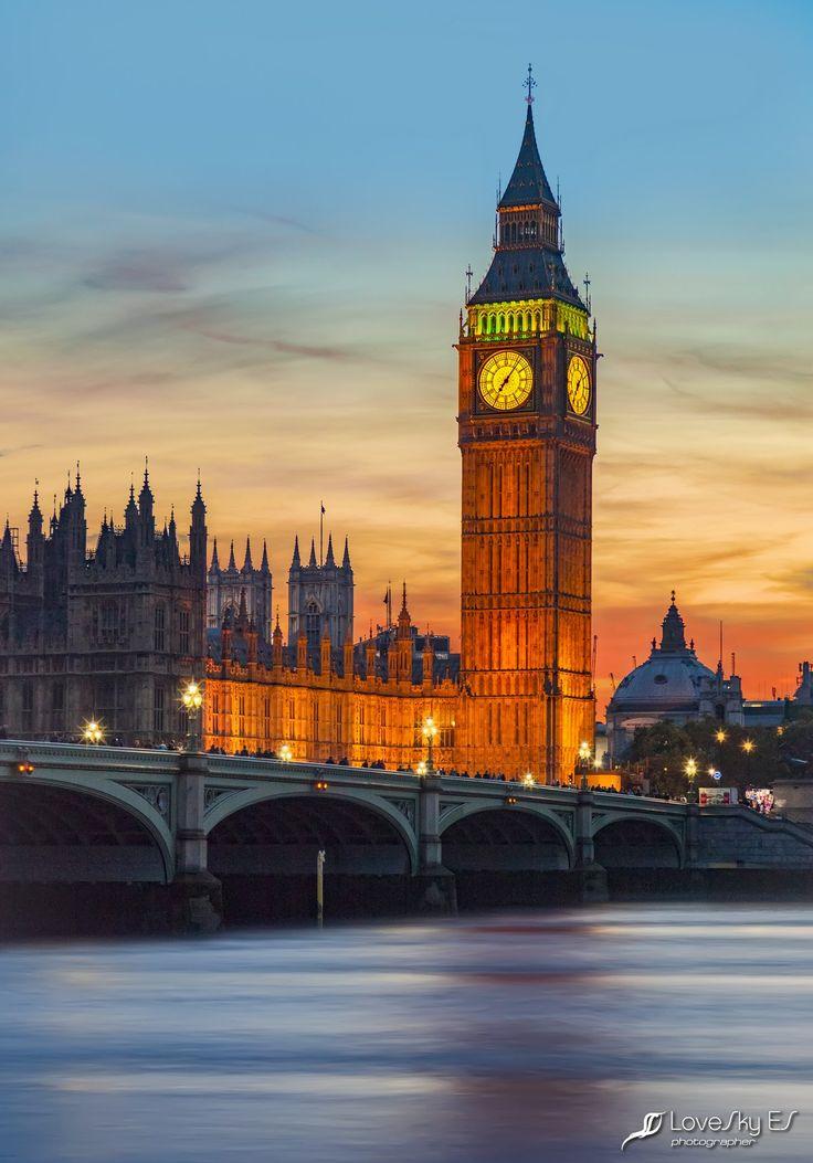 Big Ben, London (UK) by LoveSky ES**