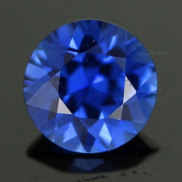 0.74 cts CERT Beautiful Blue Pailin Sapphire (CDS324)
