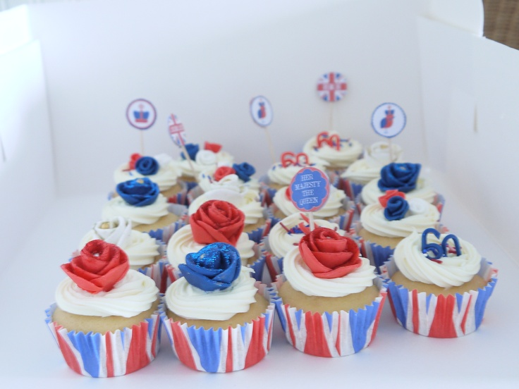Royal cup cakes.