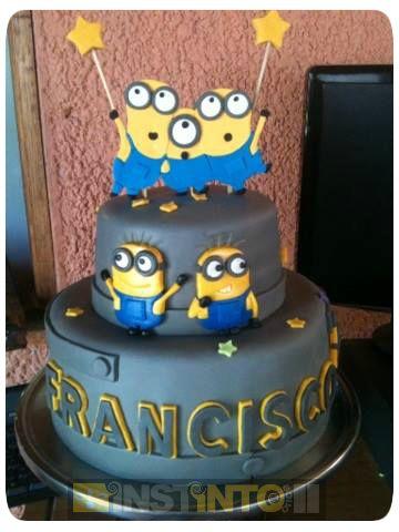 Torta de cumpleaños Minnions