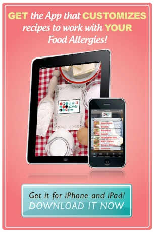 80 best food allergy apps images on pinterest food allergies cook it allergy free iphone and ipad appstomizes recipes to work with different food allergies other info on this site forumfinder Choice Image
