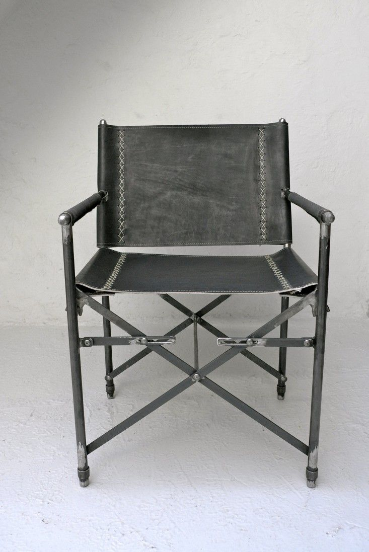 Stackable outdoor chairs lightweight peppermill interiors - Indoor Outdoor Furniture Made From Salvaged Waxed Canvas