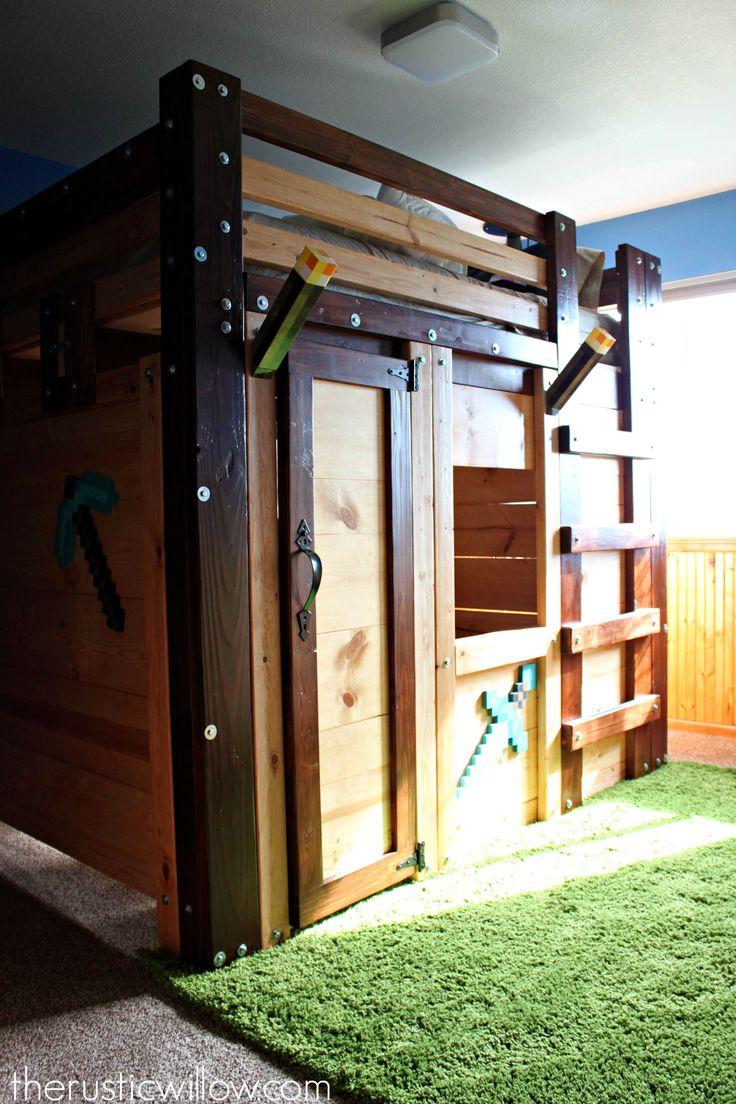DIY Fort bed