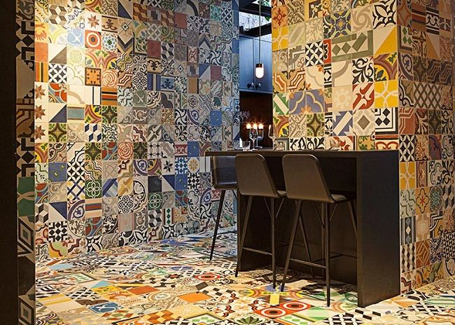 A 2014 collaboration between Lars Larsen of Kilo and architecture firm BIG drew heavily on Mexican tiles to turn a Copenhagen basement into a South America-themed restaurant.