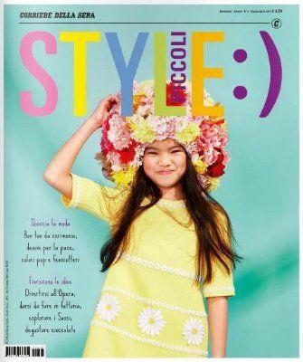 Cover Style Piccoli Marzo/Aprile 2016 di Petra Barkhof, foto di midivertounmondo, assistenti stylist Ilaria Remezzano e Enrico Fragale Esposito