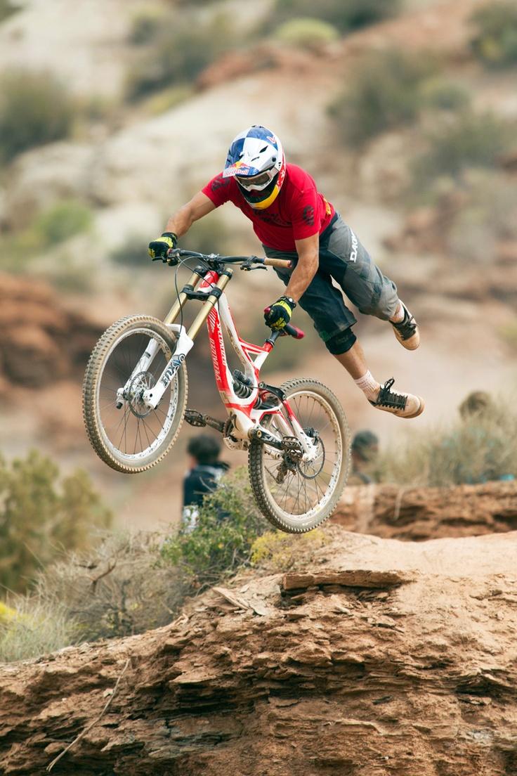 Darren Berrecloth! My FAVE! Been watching him ride since I was eight! :) Please follow us @ http://www.pinterest.com/wocycling/