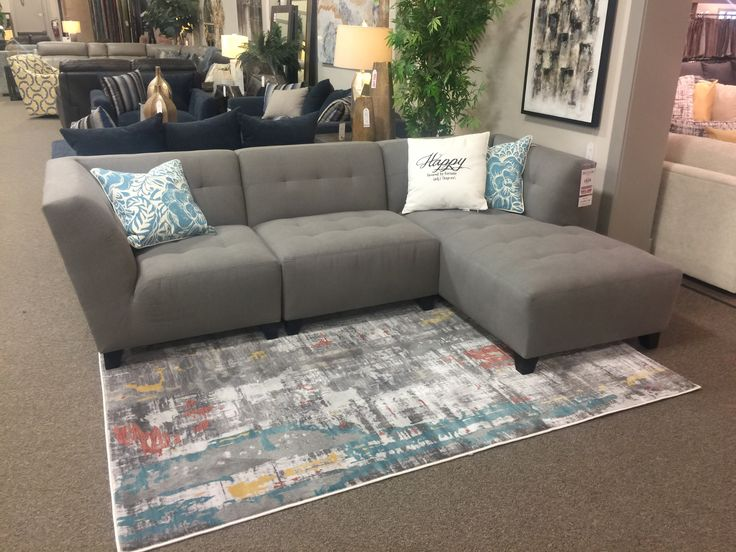 Build it big or build it small.... the Joplin sectional sectional does it all!  www.sofaland.ca/Joplin