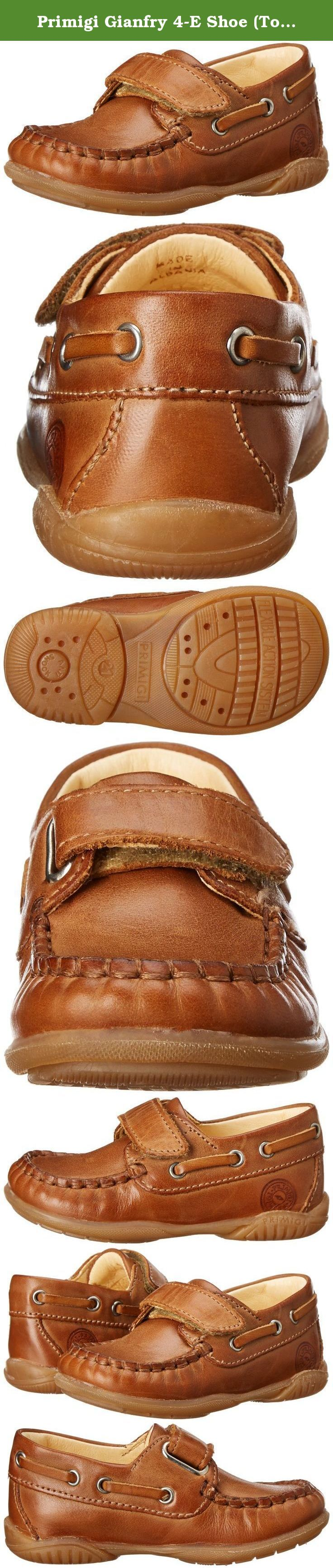 Primigi Gianfry 4-E Shoe (Toddler),Brown,22 EU(5.5 M US Toddler). Gianfry 4-E is a boat shoe with a single Velcro® strap for the stylish toddler.
