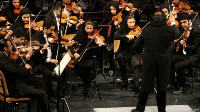 Iran : l'orchestre symphonique de Téhéran interdit de jouer en raison de ses musiciennes