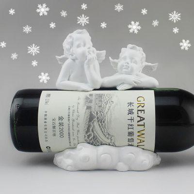 Angel винную стойку винной стойки смолы ремесла украшения современный минималистский дом быта Ретро подарки - Taobao