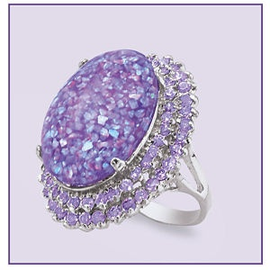 Lavender Opal RING _____________________________ Reposted by Dr. Veronica Lee, DNP (Depew/Buffalo, NY, US)