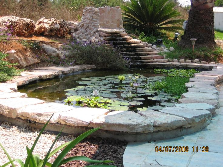 17 best images about diy koi pond on pinterest above for Homemade pond ideas