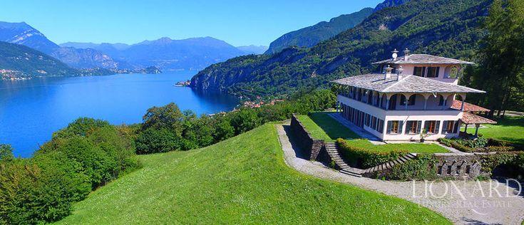 Como Gölü kenarında satılık muhteşem lüks villa Image 1