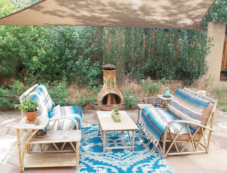 Fostering Therapy Through Art In A Colorful Santa Fe, NM Rental | Design*Sponge
