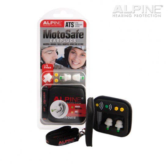 Alpine MotoSafe - Szűrős füldugó motorosoknak