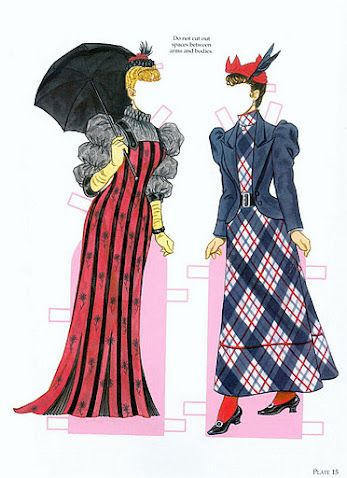 High Victorian Fashions | Gabi's Paper Dolls