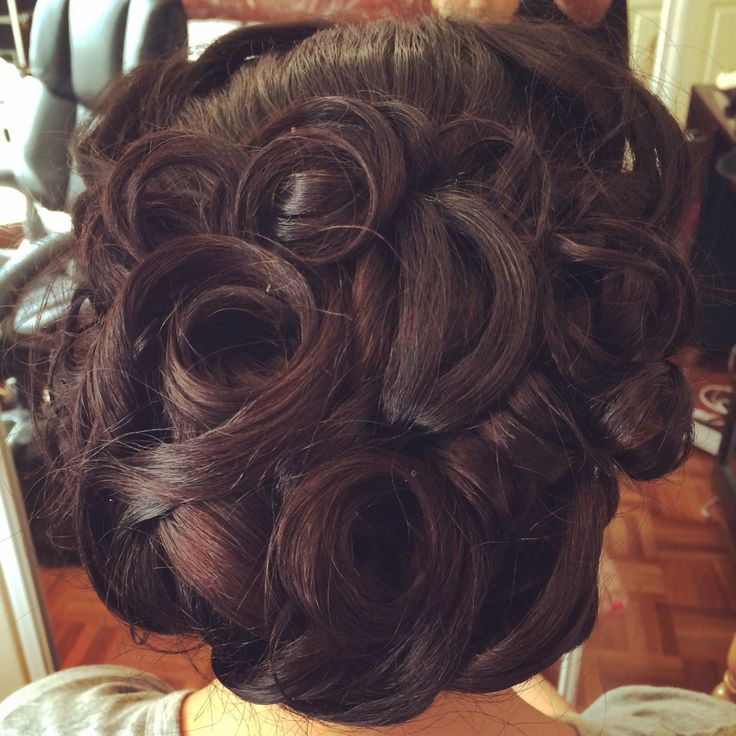 Bridal hairstyle updo www.joatybassi.com