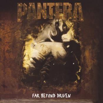 """L'album dei Pantera intitolato """"Far Beyond Driven"""" dei #Pantera su doppio vinile."""