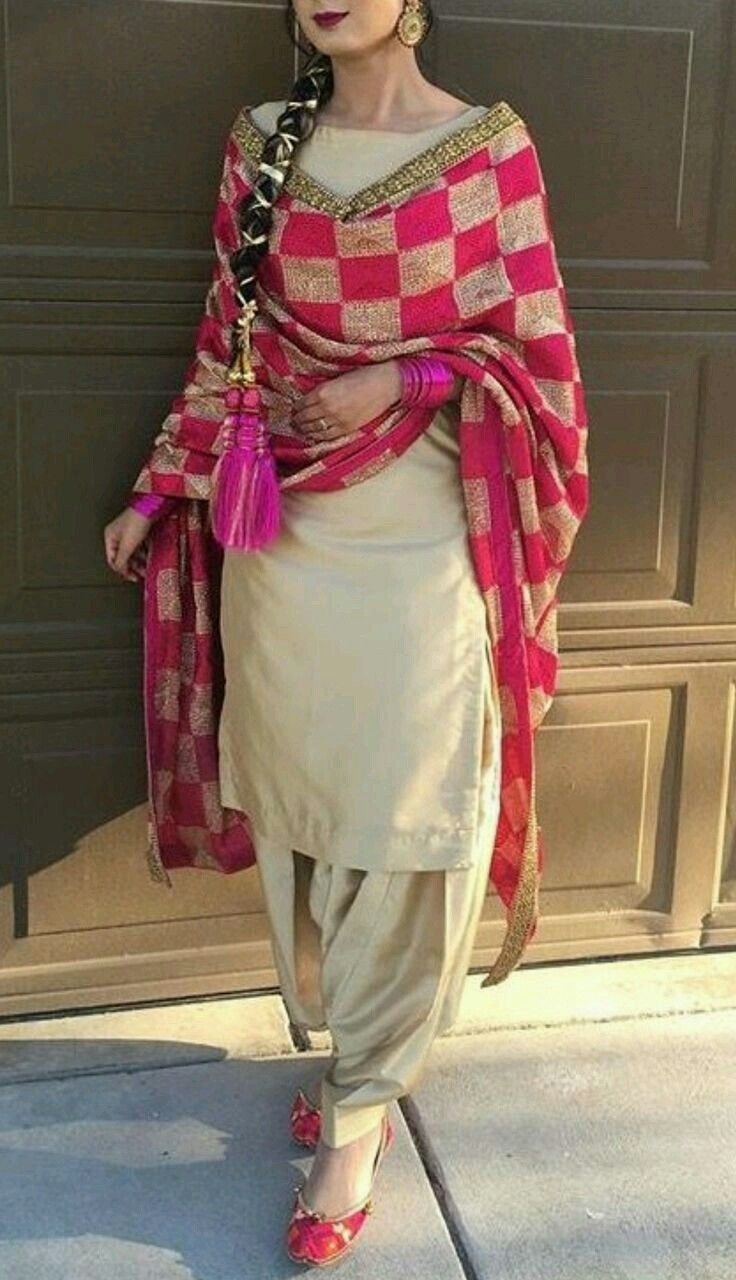 259 best punjabi bridal suits images on Pinterest ...