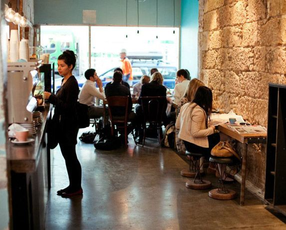 Property Of: Pilgrim.  Amazing coffee and foodie spot in Hobart, Tasmania