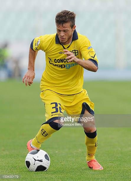 Dejan Lazarevic of Modena in action during the Serie B match between SS Virtus Lanciano and Modena FC at Adriatico Stadium on September 29 2012 in...