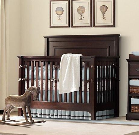 Crib: Conver Cribs, Baby Child, Converse Cribs, Bedrooms Sets, Restoration Hardware Baby, Baby Boys Rooms, Baby Boys Nurseries, Marlow Conver, Nurseries Ideas