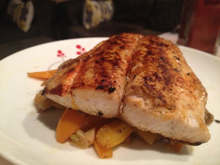 Pan-Seared Spanish Mackerel