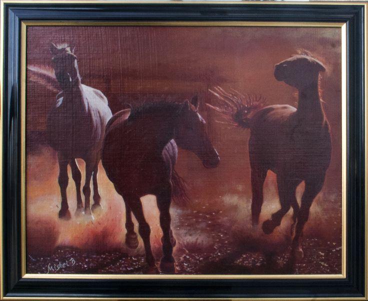 Miskei Béla - Porfelhő Horses