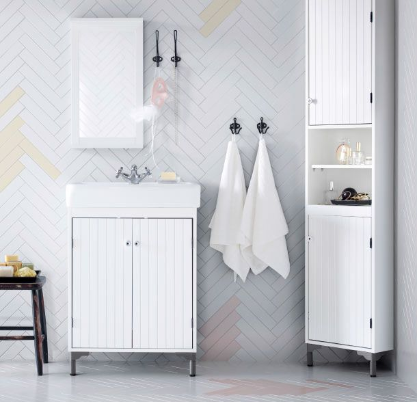 Helping give a traditional touch to the bathroom, SILVERAN bathroom furniture are experts at fitting into small spaces and tight corners.