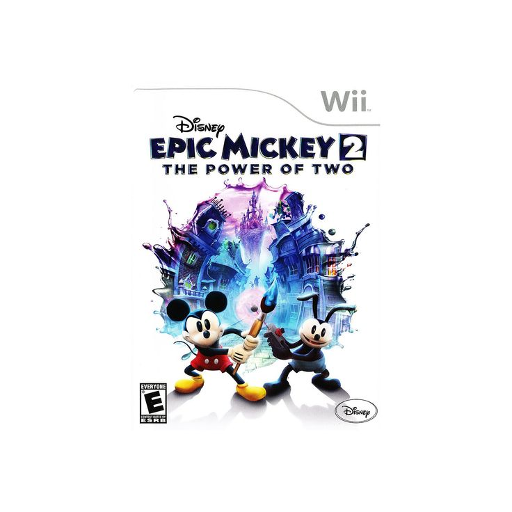 Disney Epic Mickey 2: The Power of Two for Nintendo Wii, Multicolor