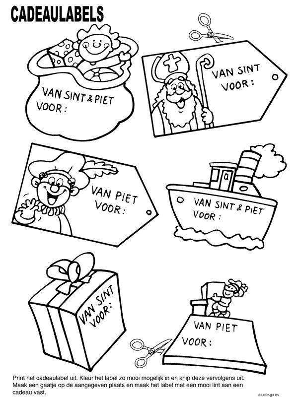 cadeau labels