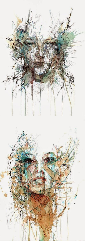 (2) wonderful drawing and zentangle art - Bilder Land