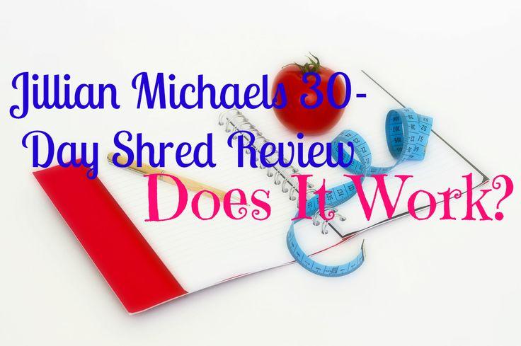 Jillian Michaels 30 day shred review. #jillianmichaels, #fitness, #betterbody