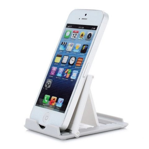 Universal Mobile Phone/Tablet Stand With Folding Bracket