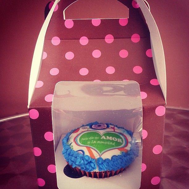 #Cupcakes personalizados para tu #Amor en el mes de #AmorYAmistad #PasteleriaSoSweet #Bogota #Amistad