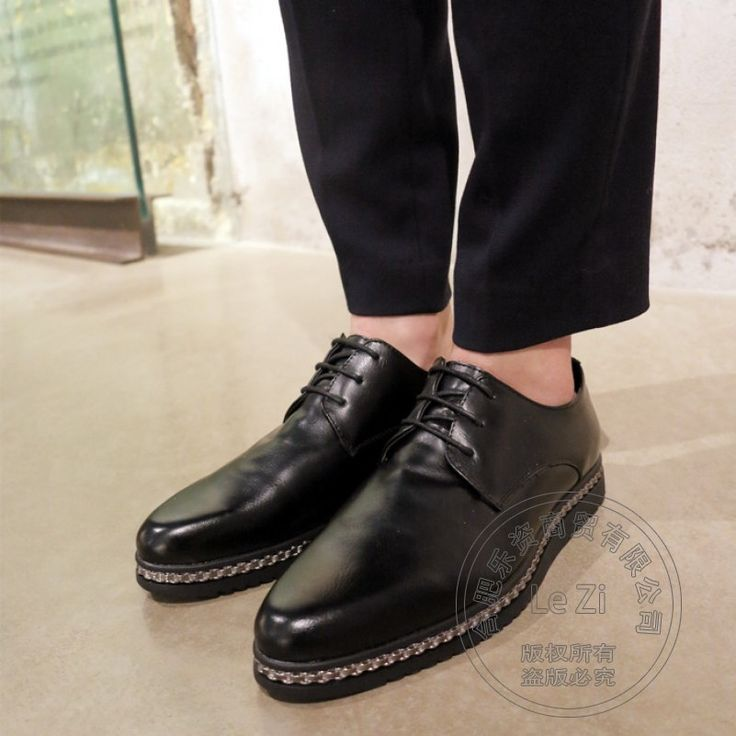 (73.41$)  Buy here  - Uniform Shining Club Coffee Men White Loafers Soft Leather Men Shoes Leather Men Shoes Luxury Brand Solid Punk Style Cow Split