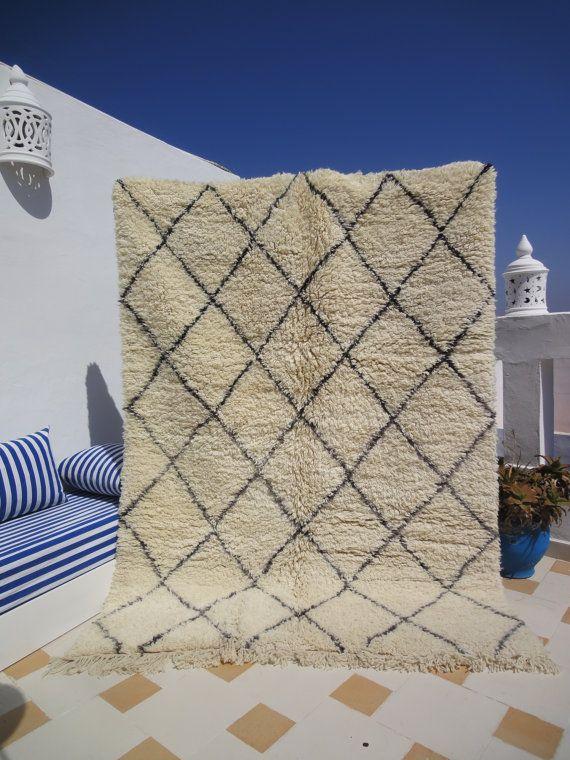 Las 25 mejores ideas sobre alfombras marroqu es en - Alfombras dibujos geometricos ...
