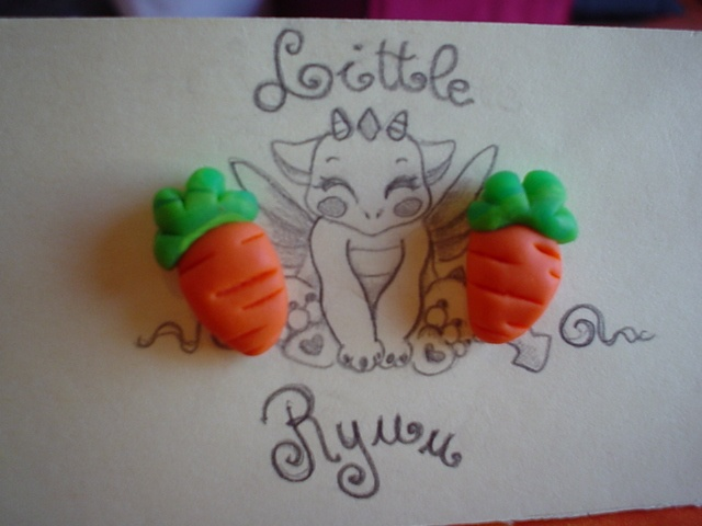 carrot earrings