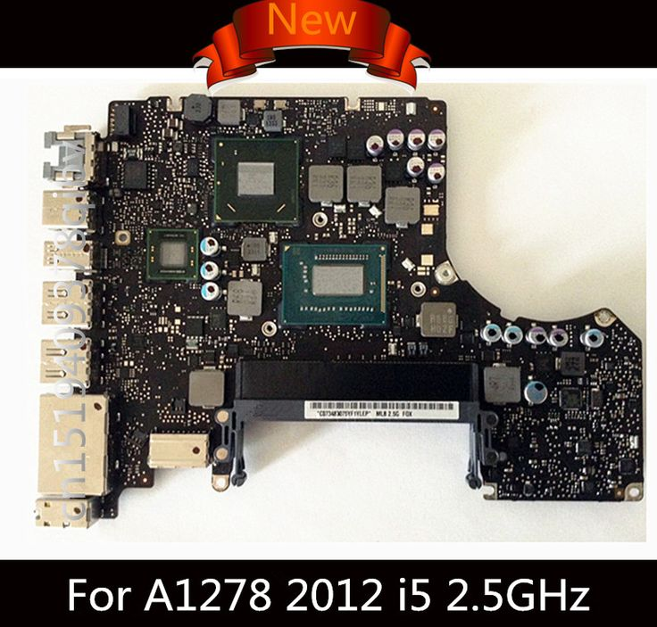 "Brand New Logic Board for Macbook Pro A1278 Logic Board 13"" Laptop i5 2.5GHz i7 2.9GHz Motherboard 820-3115-B 2012 MD101 MD102"