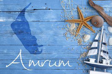 Maritime Postkarte Mit Nordseeinsel Amrum Sylt Bilder Sylt Amrum