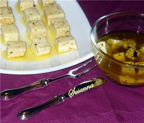 Susanna - Маринованный сыр от Carina